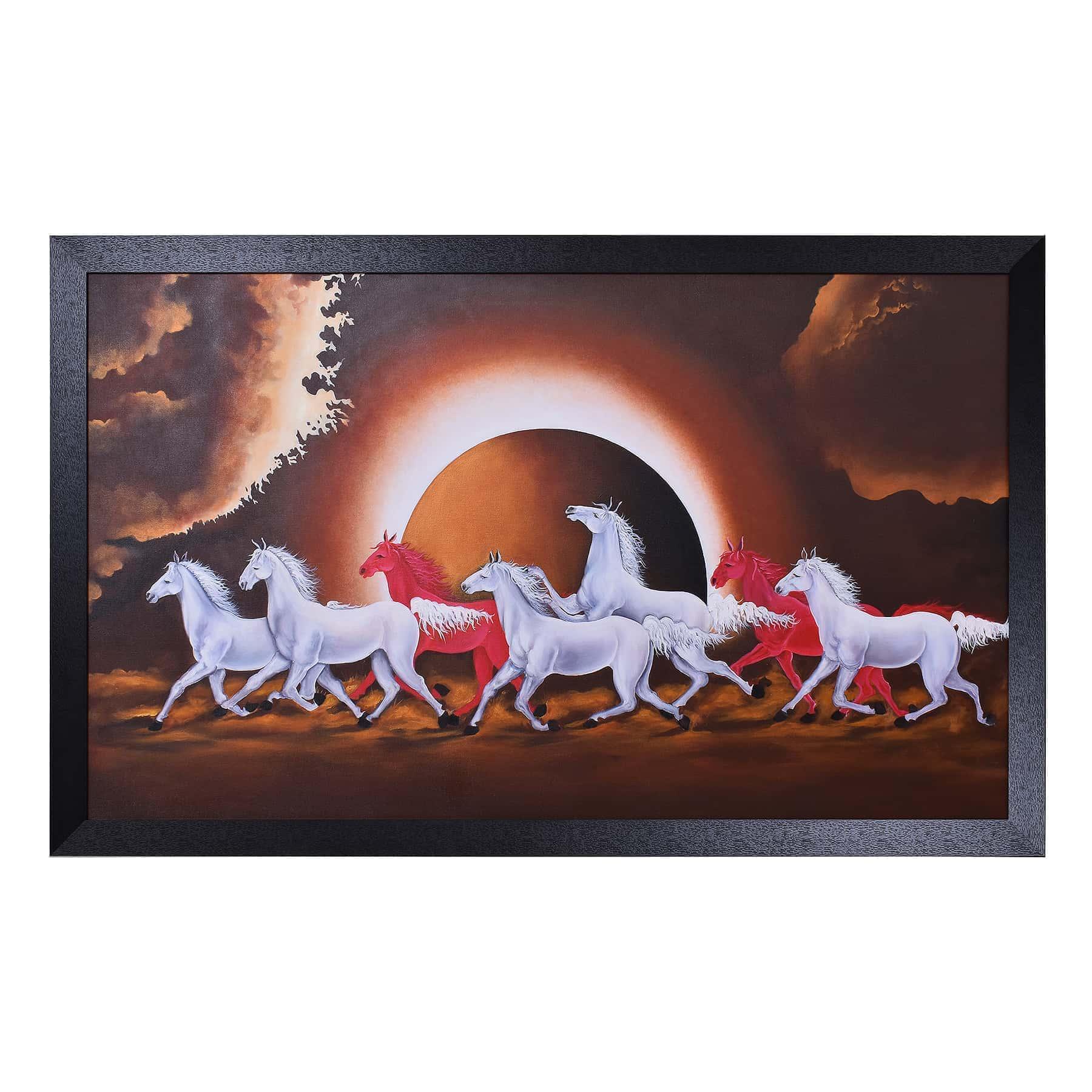 SS0907 Running Horses
