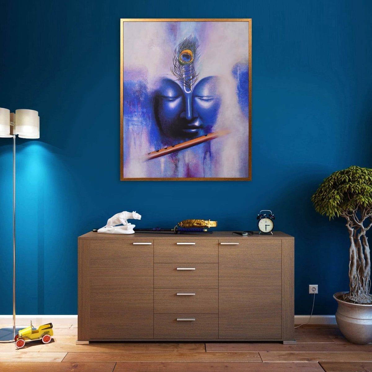 SS0922 Blue Krishna