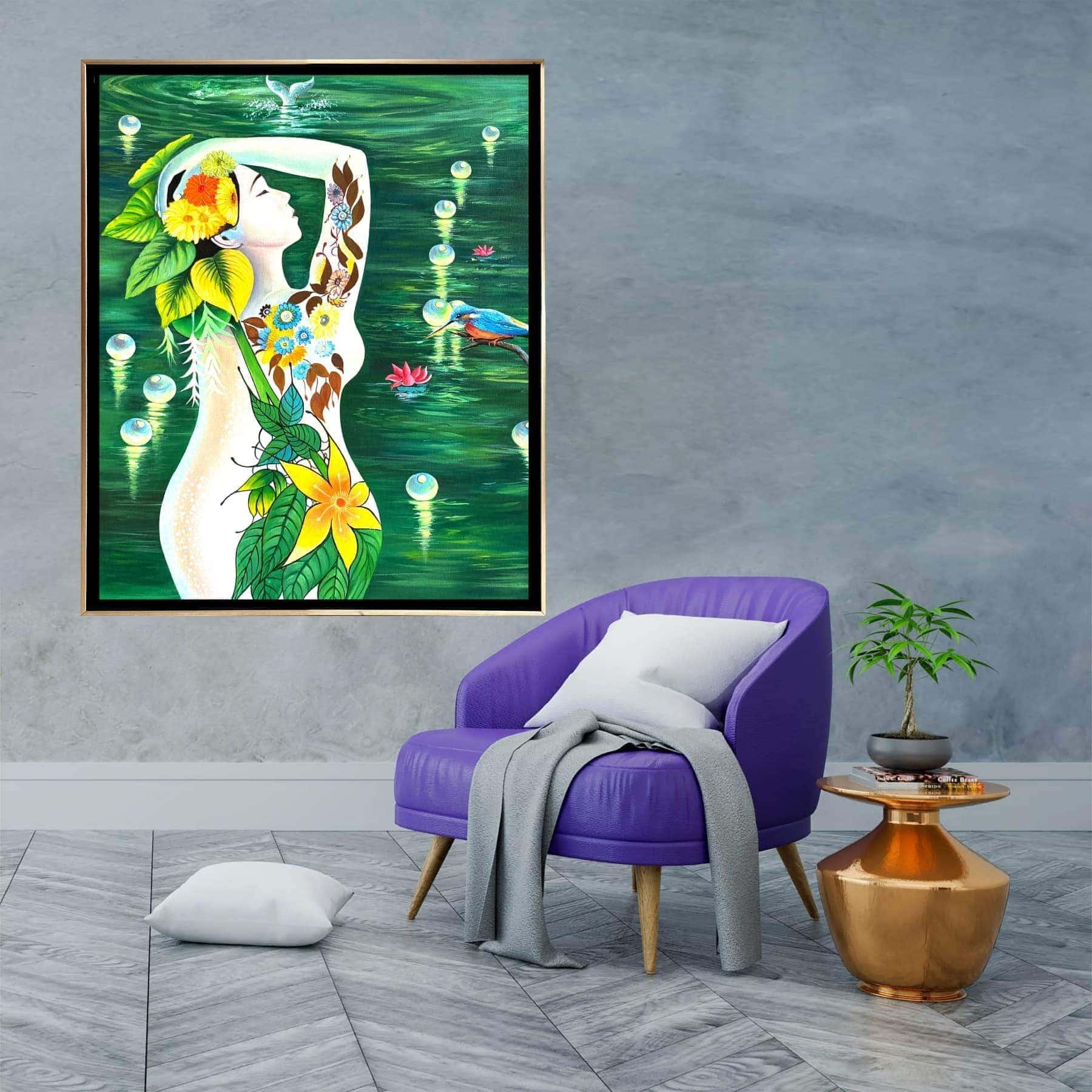 SS0942 Goddess Of Sea